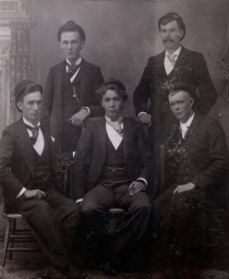 The five sons of Ole and Anna Bolsta
