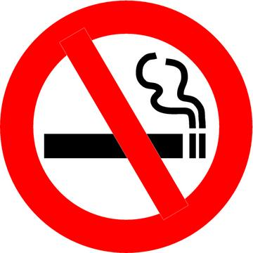 Image result for stop smoking sign