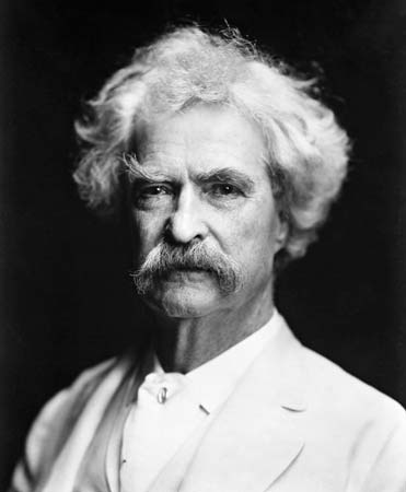 Mark Twain (aka Samuel Clemens)