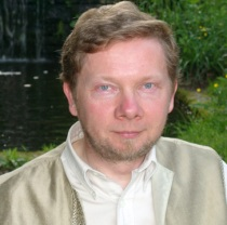 "Eckhart Tolle, author of ""The Power of Now"" and ""A New Earth"""