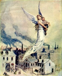flying-angel-rescuing-child