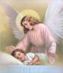 angel-protecting-sleeping-child-in-bed