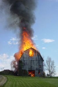 burning-barn