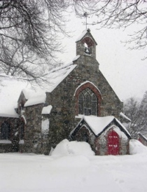 church-in-winter