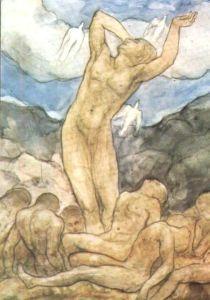 kahlil-gibran-drawing-resurrection