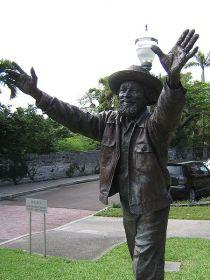 johnny-barnes-statue