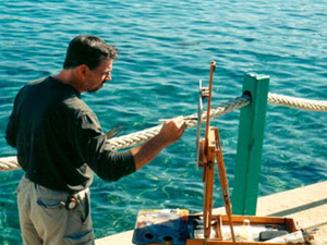 joe-paquet-painting-by-water