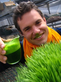"David Rainoshek: ""Got wheatgrass?"""