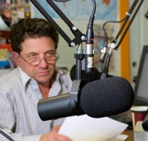 "Dennis Raimondi on the air with ""Speaking Freely"""