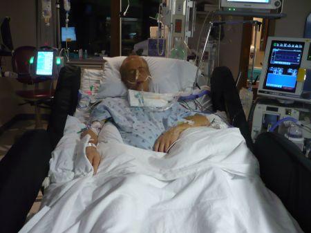Brad Stokes in the ICU