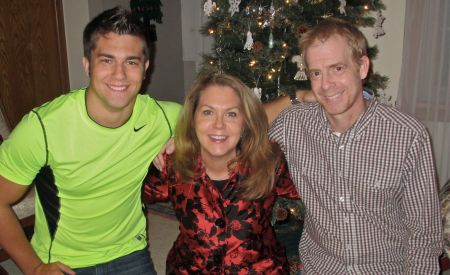 Christian, Heidi and Brad Stokes