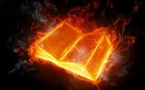 book-on-fire