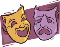 good-news-bad-news-theater-masks