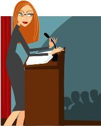 professional-woman-speaker-at-podium