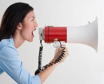 woman-megaphone