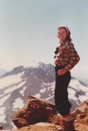 Lori  (shown here in 1984) now has a new perspective