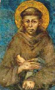 """The Stigmata of St. Francis."" a painting by Italian artist Giotto di Bondone, painted around 1295-1300 and housed in the Musée du Louvre in Paris"