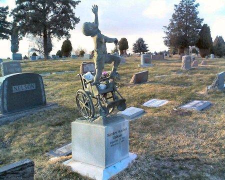 Matthew Robinson's tombstone